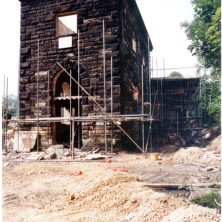 Restoration of the Pump House