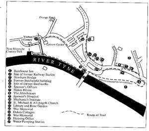 Old Newburn Map